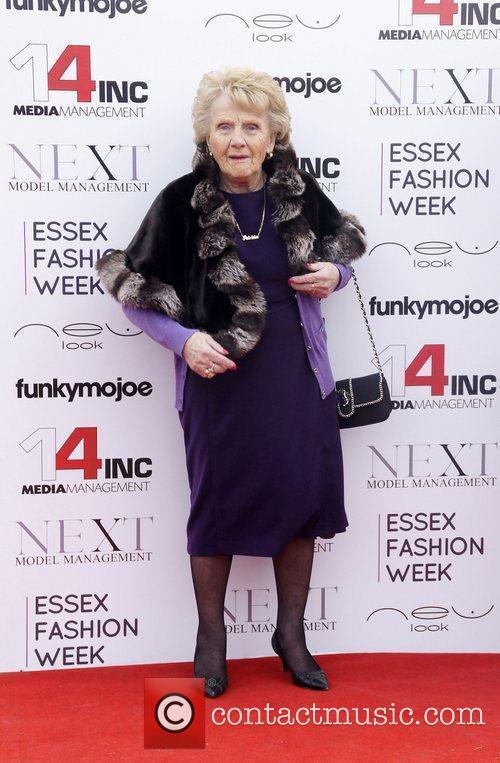 Nanny Pat  VIP day at Essex Fashion...