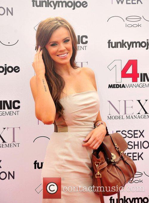 Maria Fowler VIP day at Essex Fashion Week...