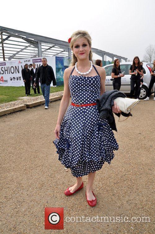 Nikki Grahame VIP day at Essex Fashion Week...