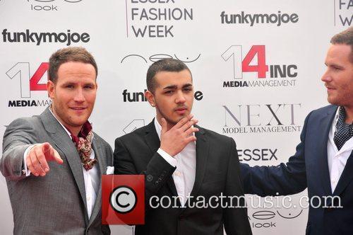 Adam Ryan and Simon Ryan  VIP day...