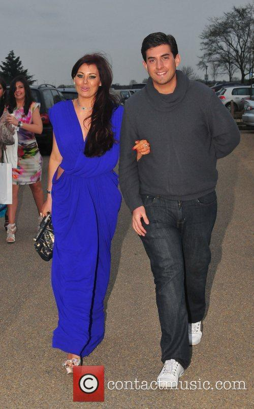 Jessica Wright and James Argent  VIP day...