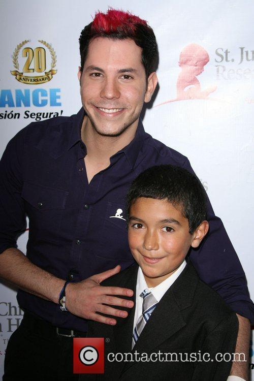 Christian Chavez with Drew Olvera 2nd Annual 'Estrellas...