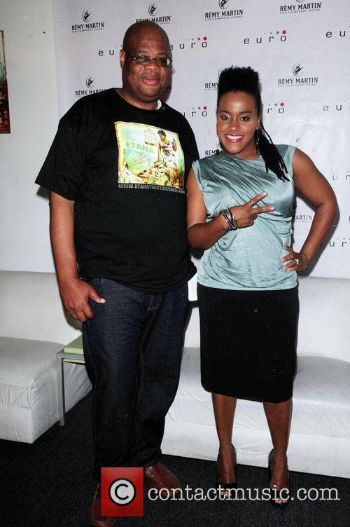 Reggae singer Etana, real name Shauna Mckenzie, with...