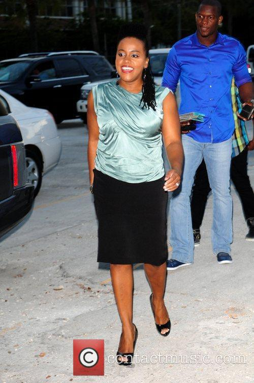 Reggae singer Etana, real name Shauna Mckenzie, attends...