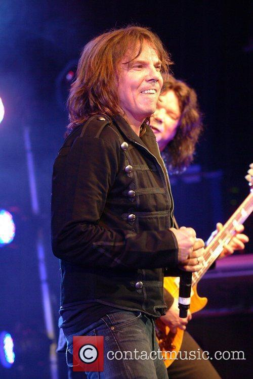 Joey Tempest performing at the Shepherds Bush Empire...