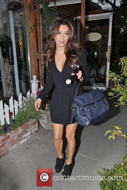 Eva Longoria, Ken Paves and Ken Paves Hair Salon 2