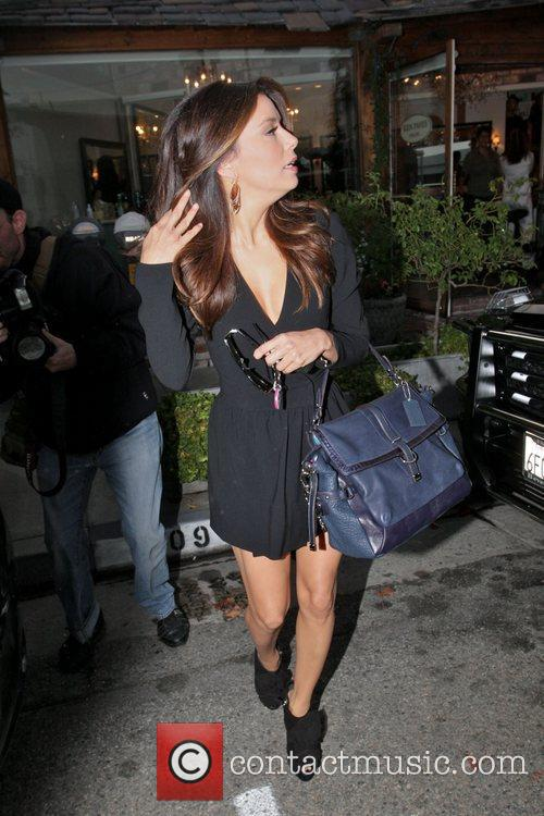 Eva Longoria, Ken Paves and Ken Paves Hair Salon 9