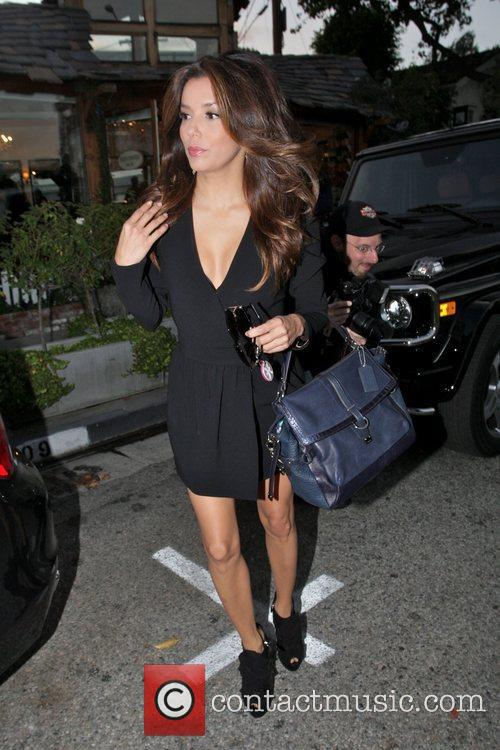 Eva Longoria, Ken Paves and Ken Paves Hair Salon 8