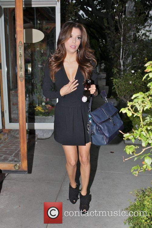 Eva Longoria, Ken Paves and Ken Paves Hair Salon 7