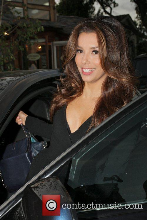 Eva Longoria, Ken Paves and Ken Paves Hair Salon 1