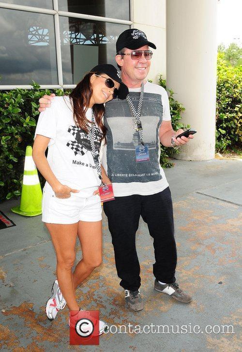 JR Ridinger and Eva Longoria The Rally for...
