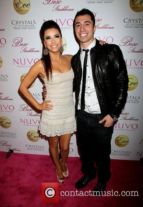 Eva Longoria and Tino Coury  Eva Longoria...