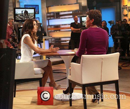Eva Longoria during an appearance on 'Good Morning...