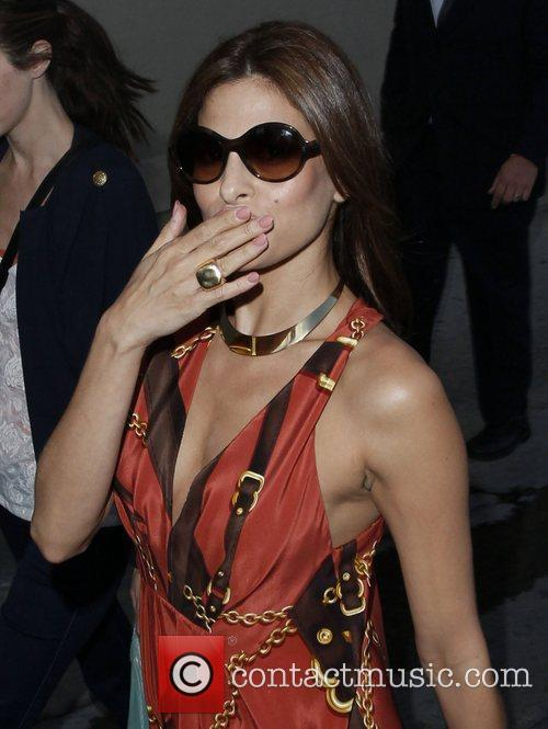 Eva Mendes arriving at the Jimmy Kimmel Live...