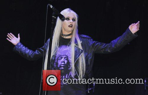 Taylor Momsen The Pretty Reckless perform live at...