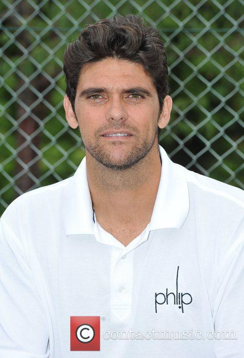 Mark Philippoussis Evian - photocall held at The...