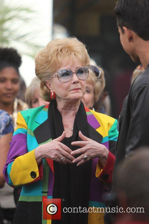 Debbie Reynolds at The Grove to film an...