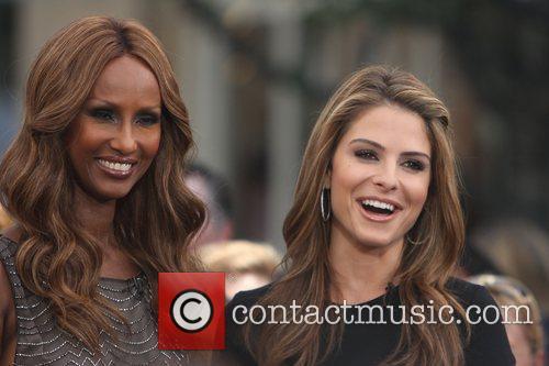 Iman and Maria Menounos 4