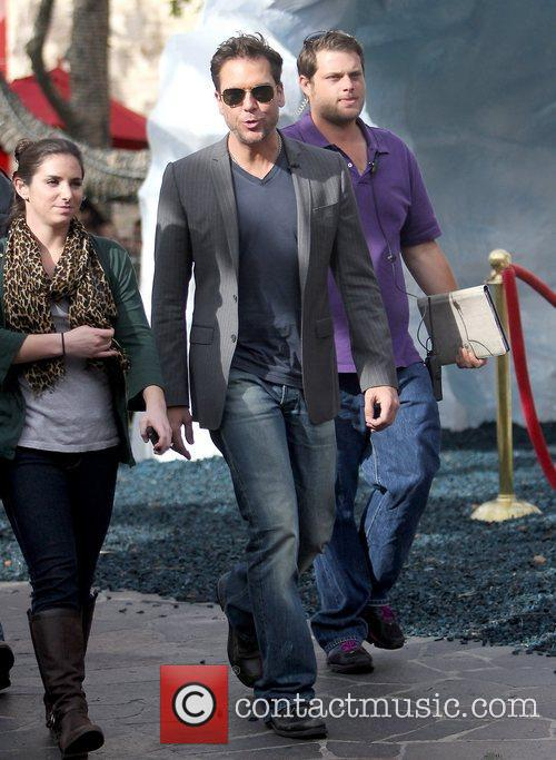 dane cook celebrities filming an appearance on 5760757
