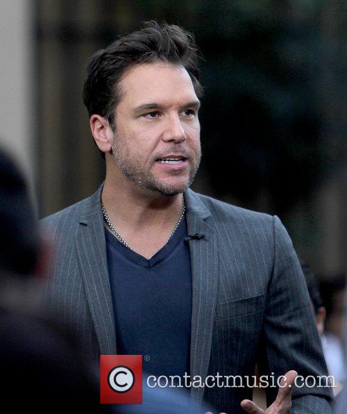 dane cook celebrities filming an appearance on 5760760