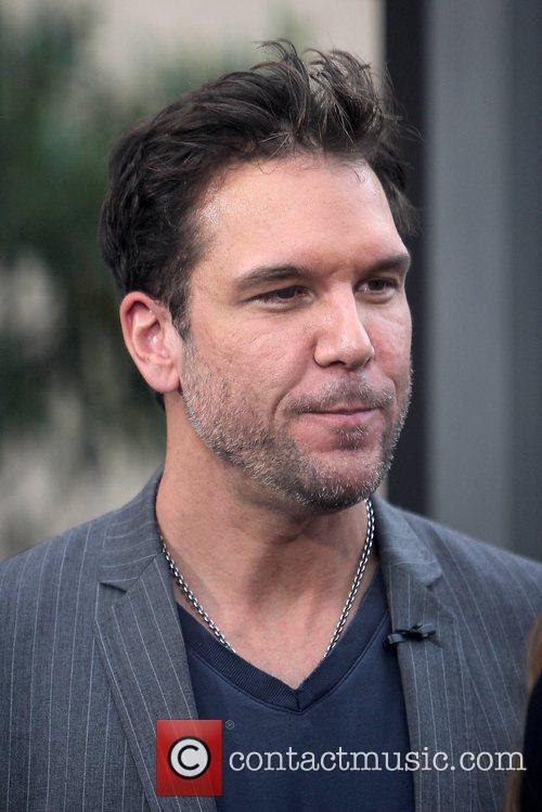 Dane Cook Celebrities filming an appearance on entertainment...