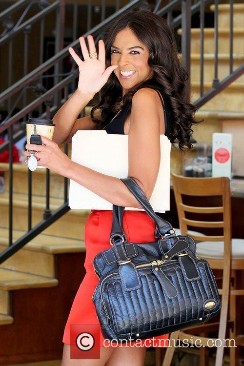 Terri Seymour at The Grove for an interview...