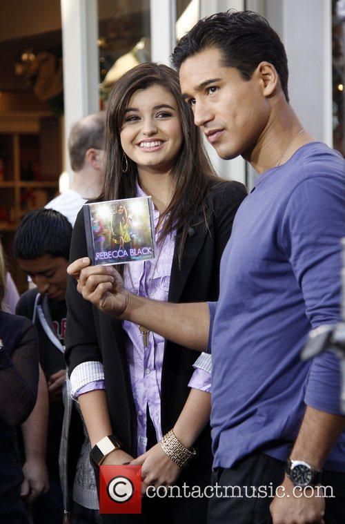 Rebecca Black and Mario Lopez 1