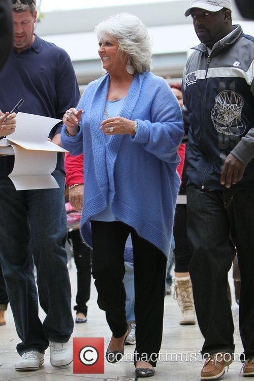 paula deen at the grove to film 3576031