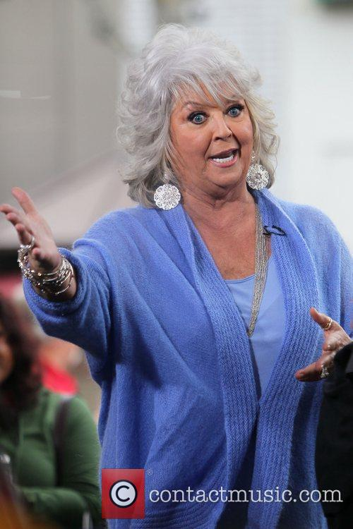 paula deen at the grove to film 3576056