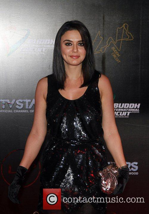 bollywood actor preity zinta celebrities attending the 3584361