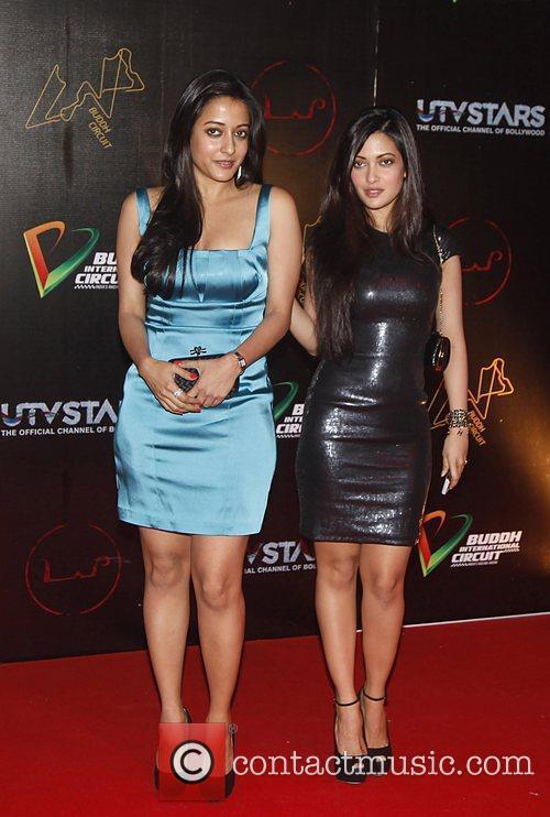 Celebrities attending the Lap Buddh International Circuit after...