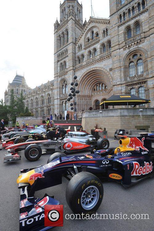 The F1 Party held at the Natural History...