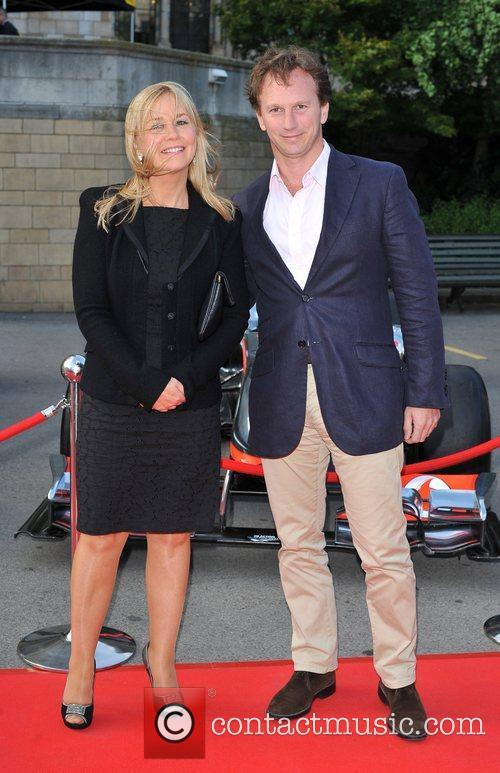Guest and Christian Horner The F1 Party held...