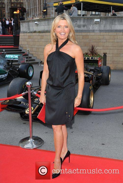 Tina Hobley The F1 Party held at the...