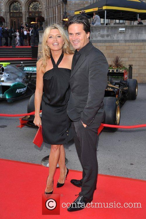 Tina Hobley and Oliver Wheeler The F1 Party...