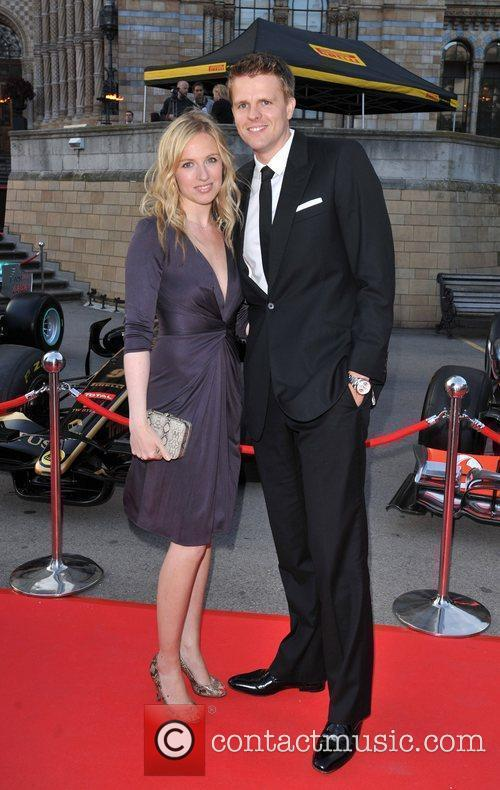 Jake Humphrey The F1 Party held at the...