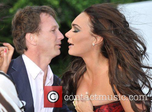 Christian Horner and Tamara Ecclestone The F1 Party...