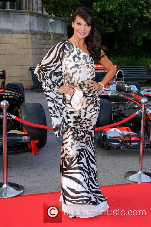 Lizzie Cundy The F1 Party held at the...