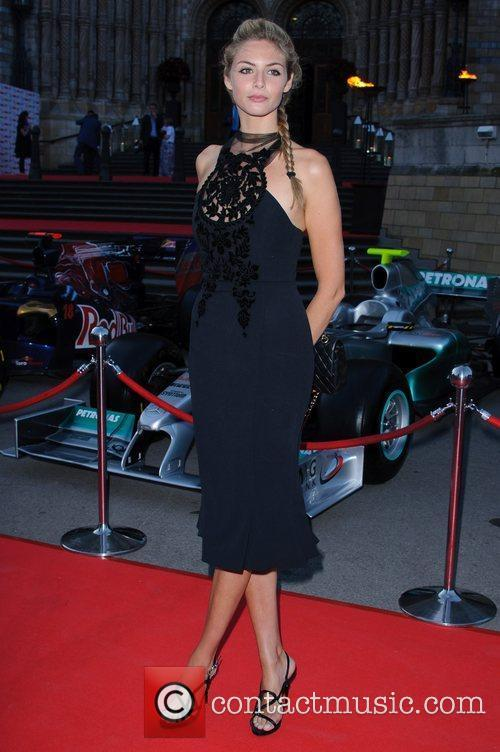 Tamsin Eggerton The F1 Party held at the...
