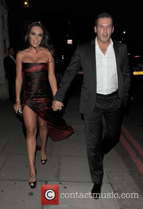Tamara Ecclestone and her boyfriend Omar Kyhami The...