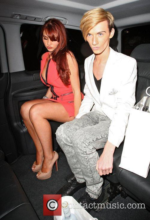 Amy Childs and Harry Debidge,  at the...