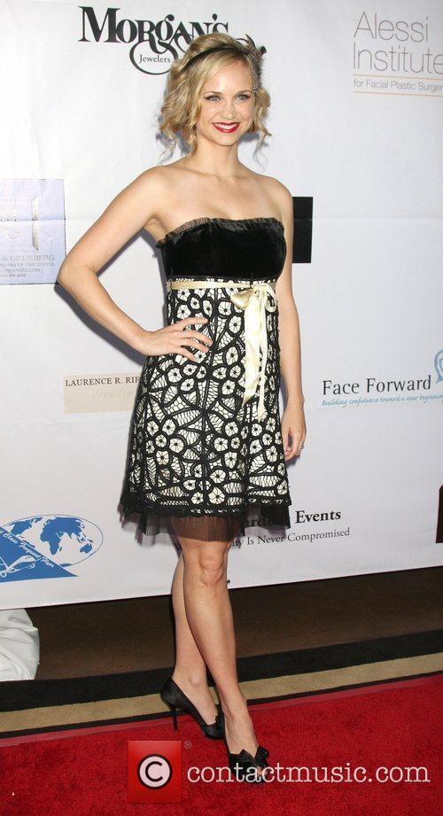 Fiona Gubelmann arriving at the Face Forward 2nd...