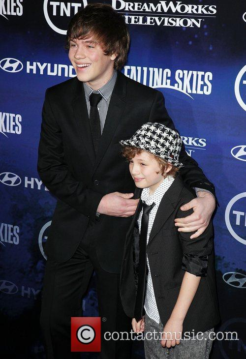 Connor Jessup (L) and Maxim Knight  The...
