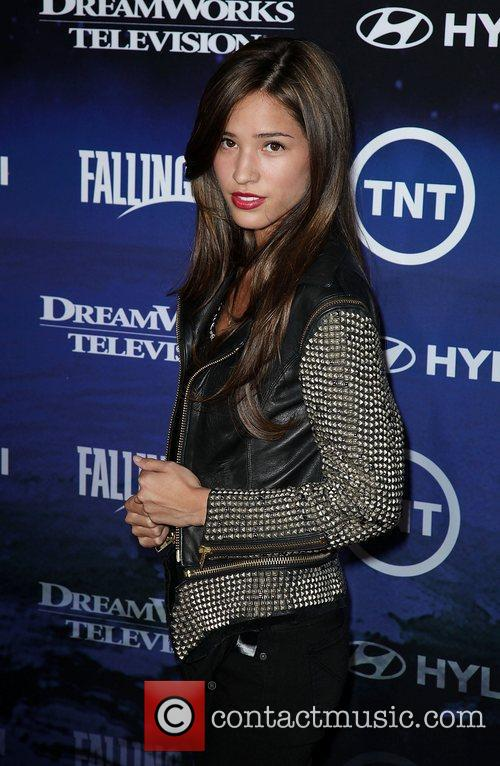 Kelsey Chow The Premiere of TNT And Dreamworks'...