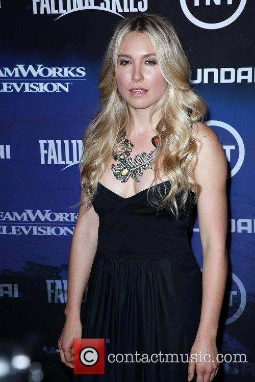 Sarah Carter The Premiere of TNT And Dreamworks'...