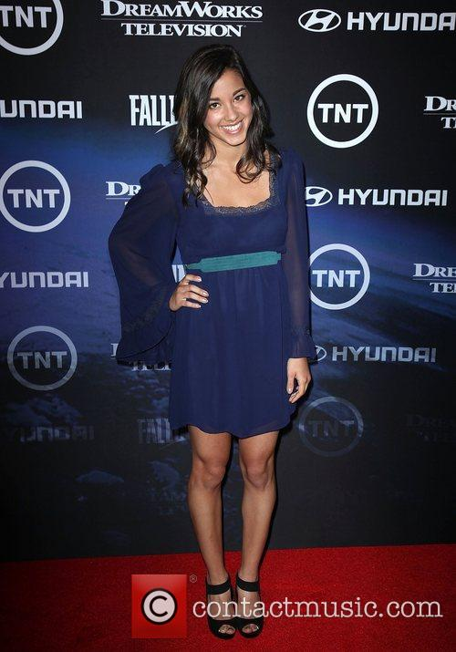 Seychelle Gabriel The Premiere of TNT And Dreamworks'...
