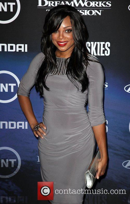 Tiffany Hines The Premiere of TNT And Dreamworks'...