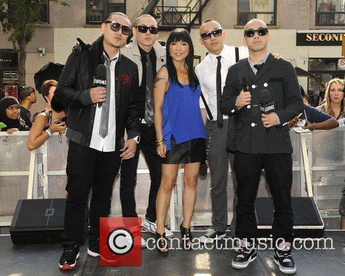Far East Movement appear on Much Music's New.Music.Live.