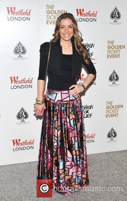 Elen Rives Fashion For Relief Pop-Up shop launch...