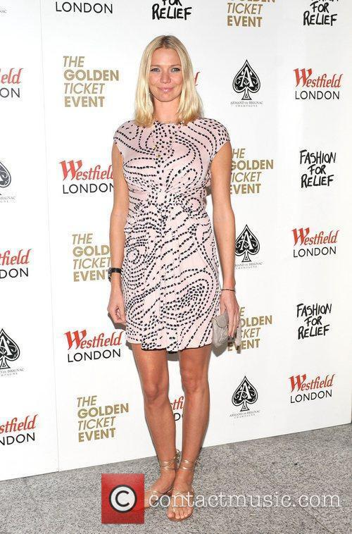 Jodie Kidd Fashion For Relief Pop-Up shop launch...